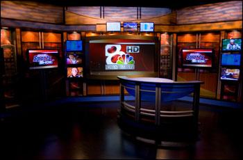 KOMU Studio Set April 2009