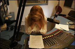 Magazine Students Learn Radio Skills