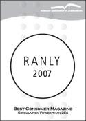 The MAP Ranly Award