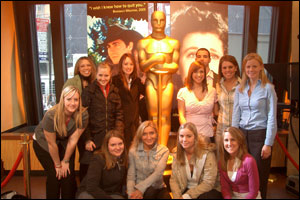 Strategic Communication Students in NYC