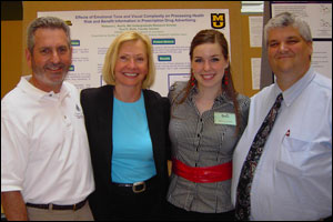 Glenn Leshner, Margaret Duffy, Rebecca Norris and Paul Bolls