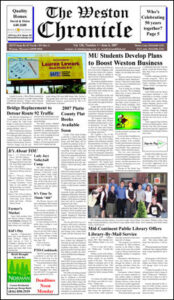 The June 6, 2007, Weston Chronicle