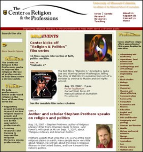 Center on Religion and the Professions Home Page