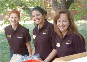 Lucinda Housley, Maria Lorenzo and Carolyn Mutrux