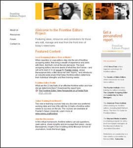 Frontline Editors Project