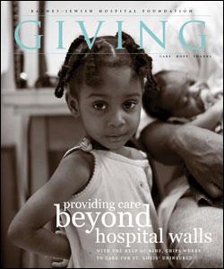 Barnes-Jewish Hospital Giving Magazine