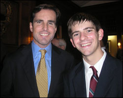 Bob Woodruff and Sean Powers