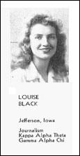 Louise Black Jadel, BJ '46