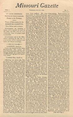 Missouri Gazette