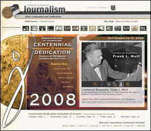 Centennial Website