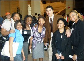 NABJ Students Tour the Capitol