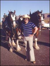 Steve Kopcha in Monument Valley