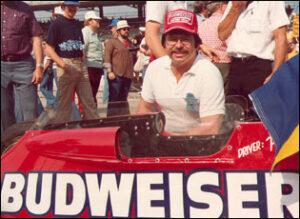 Steve Kopcha at the Indianapolis 500