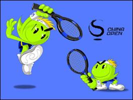 2009 China Open Logo and Mascot
