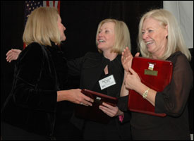 Margaret Duffy and Esther Thorson