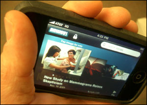 Newsy.com iPhone Application