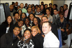 NABJ Students at Spike DDB