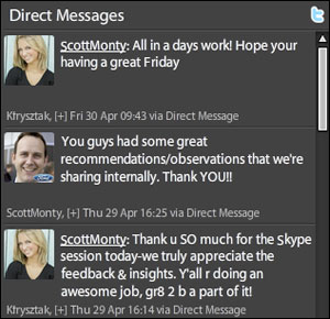 Excerpt of Twitter Conversation with Ford Motor Company