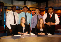 Convergence Journalism Students at KOMU