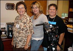 Doris Barnhart, Lissette Argenal and Anna Romero