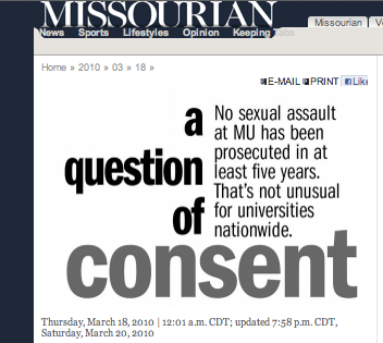 """A Question of Consent"""