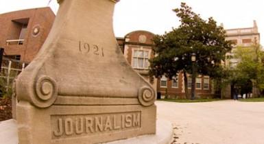 University of Missouri Journalism School Exterior
