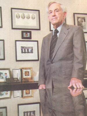 Bernard Waterman, BJ '49
