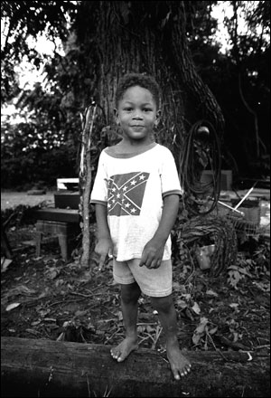 Small Boy in Mississippi Delta
