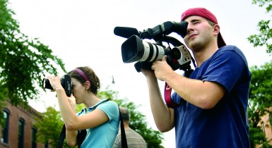 Photojournalism Students