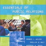Essentials of Public Relations