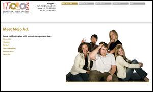 MOJO Ad Website