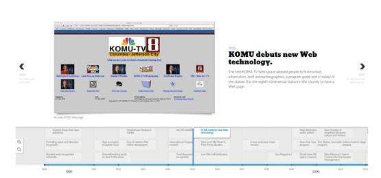 KOMU Website 1995