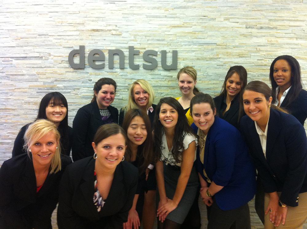 Group Photo at Dentsu America