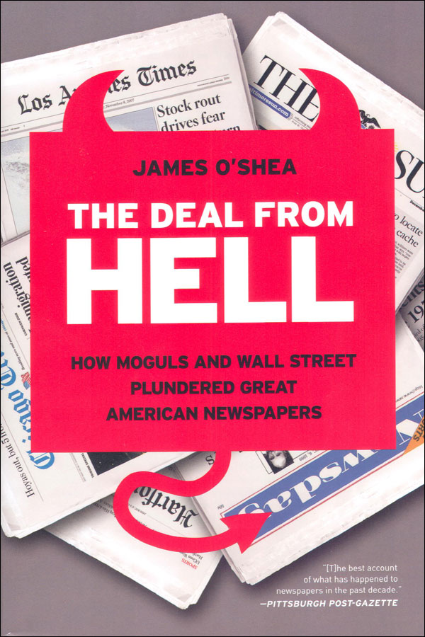 The Deal from Hell by James O'Shea, MA '71