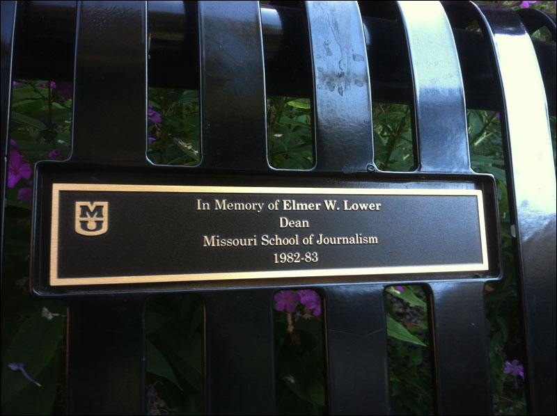 In Memory of Elmer W. Lower