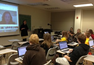 Google+ Hangout Session with Convergence Editing and Producing Class