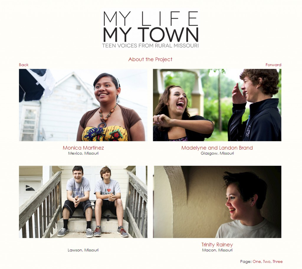 My Life, My Town Website