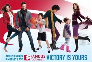 Famous Footwear Advertisement