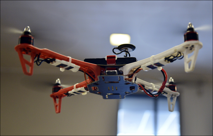 Journalism Drone Camera
