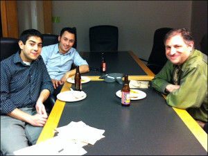 Rehman Tungekar, Scott Pham and Mark Stencel