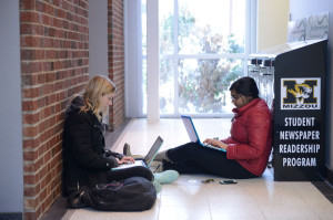 Missouri Students with Laptops