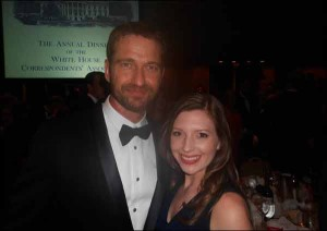Gerard Butler and Gina Cook