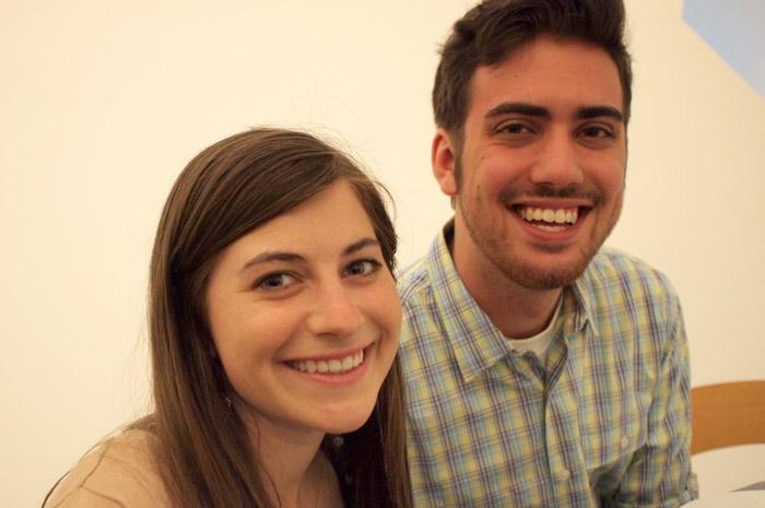 Sarah Hoffman and Grant Hindsley