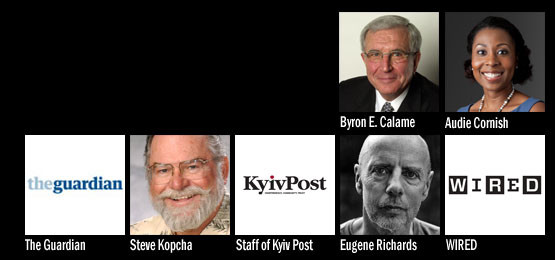 2014 Recipients of the Missouri Honor Medal for Distinguished Service in Journalism