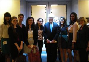 Missouri Students Visit CNN