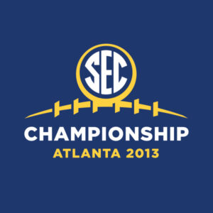 2013 SEC Championship Football Game Logo