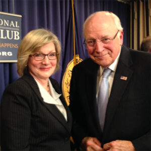 Barbara Cochran and Dick Cheney