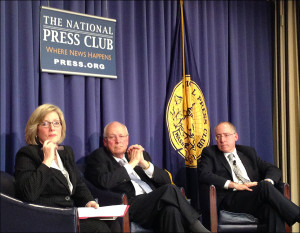 Barbara Cochran, Dick Cheney and Jonathan Reiner