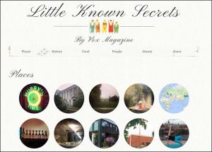 "Vox Magazine ""Little Known Secrets"""