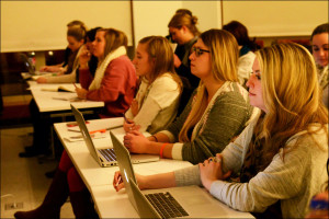 Students Listen to Dalina Tobar-Rottman